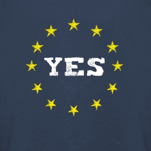 yes Europe EU Europe love no Proposed referendum on United Kingdom membership of the European Union euro national demo - Kids' Premium Longsleeve Shirt