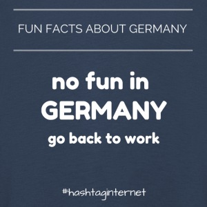 fun facts about Germany no fun in Germany go back - Kinder Premium Langarmshirt