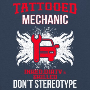 TATTOOED MECHANIC - Kinder Premium Langarmshirt