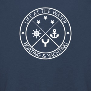 Life at the Water - Boating & Yachting - Kids' Premium Longsleeve Shirt