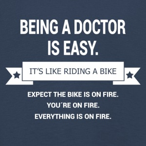 BEING A DOCTOR - Kids' Premium Longsleeve Shirt
