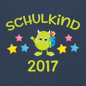 Schulkind 2017 - Monster - Kinder Premium Langarmshirt