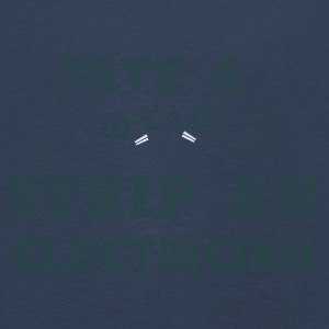 Electricians: Save a wire. Strip of Electrician. - Kids' Premium Longsleeve Shirt