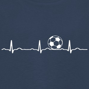ECG HEARTBEAT blanc de football - T-shirt manches longues Premium Enfant
