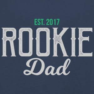 New Dad Rookie Daddy - Farsdag - Premium langermet T-skjorte for barn