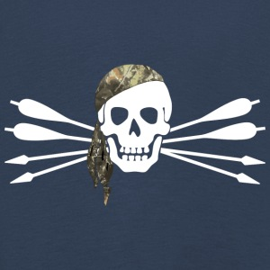 Pirate of archery - Skull and arrows - Kids' Premium Longsleeve Shirt
