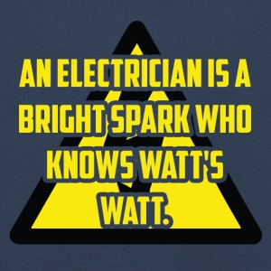 Electrician: An Electrician is a bright spark who - Kids' Premium Longsleeve Shirt