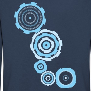 gear blue - Kids' Premium Longsleeve Shirt
