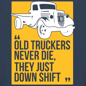 Old truckers - Kids' Premium Longsleeve Shirt