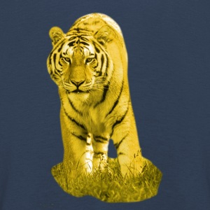 Yellow Tiger - Kinder Premium Langarmshirt