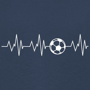 le football Heartbeat - T-shirt manches longues Premium Enfant