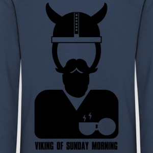 Viking of sunday morning - Maglietta Premium a manica lunga per bambini