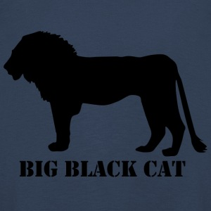 BIG BLACK CAT - Kinder Premium Langarmshirt