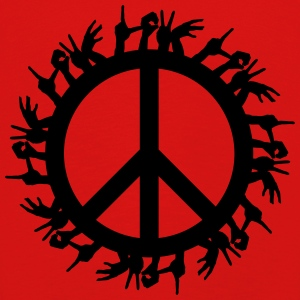 Peace 4 the World - Børne premium T-shirt med lange ærmer