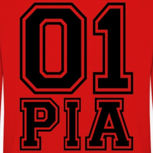 Pia - Name - Kids' Premium Longsleeve Shirt