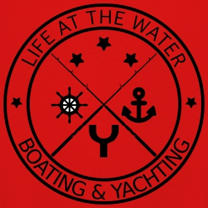 Life at the water - boating and yachting - Kinder Premium Langarmshirt