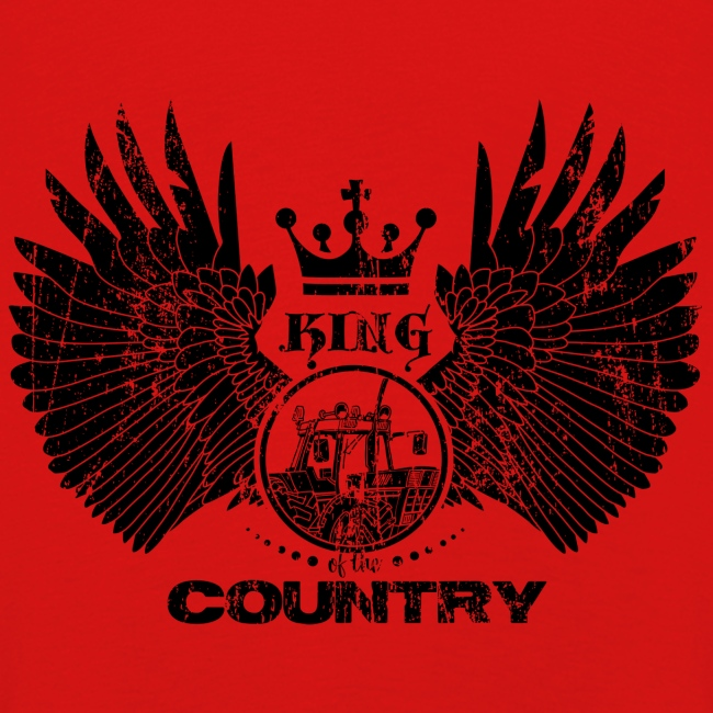 IH King of the country (black design)