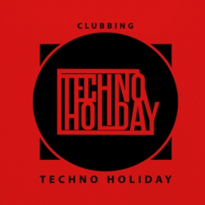 logo_techno_holiday_2017_negro1 - T-shirt manches longues Premium Enfant