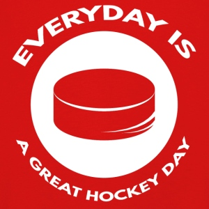 Hockey: Everyday is a great day hockey - Kids' Premium Longsleeve Shirt
