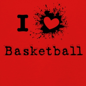 iLove Basketball - Premium langermet T-skjorte for barn