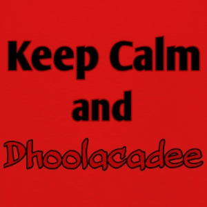keep calm and dhoolacadee - Premium langermet T-skjorte for barn