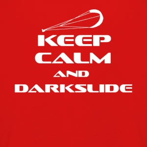 Kitesurfing - KEEP CALM AND DARK SLIDE - Premium langermet T-skjorte for barn