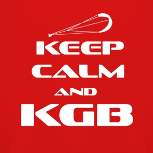 KITESURFING - KEEP CALM AND KGB - Kinder Premium Langarmshirt