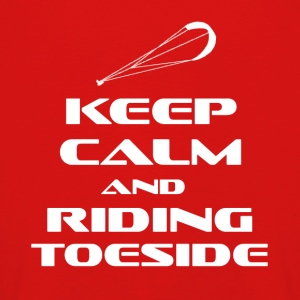 KITESURFING - KEEP CALM AND RIDING TOESIDE - Kinder Premium Langarmshirt