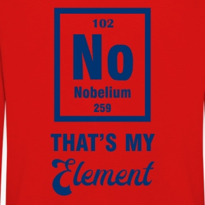 Periodensystem: Nobelium - that´s my Element - Kinder Premium Langarmshirt