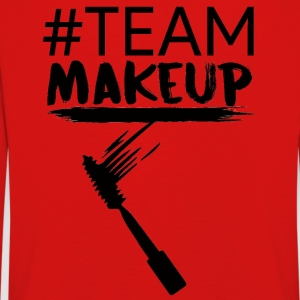Beauty / Make-up: #TeamMakeup - Kinderen Premium shirt met lange mouwen
