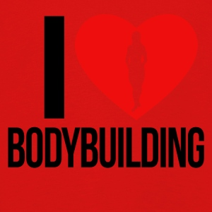 I LOVE BODYBUILDING WOMEN - Kinder Premium Langarmshirt