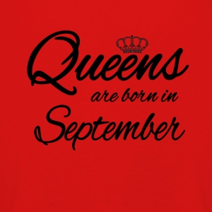 Queens Born September Birthday Birthday - Kids' Premium Longsleeve Shirt