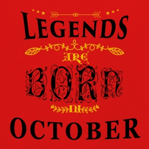 Birthday October legends born gift birth - Kids' Premium Longsleeve Shirt
