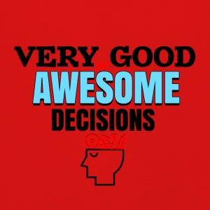Very good at awesome decisions - Kinder Premium Langarmshirt