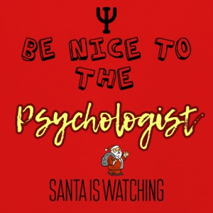 Be nice to the psychologist Santa is watching - Kids' Premium Longsleeve Shirt
