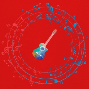 GUITAR CIRCLE - Kids' Premium Longsleeve Shirt