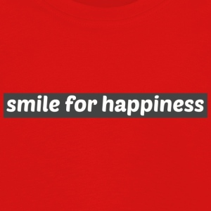 Smile for happiness - Kids' Premium Longsleeve Shirt