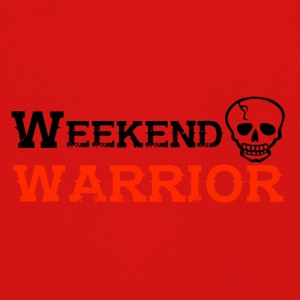 Shirt Weekend Warrior Weekend Party - Kinderen Premium shirt met lange mouwen