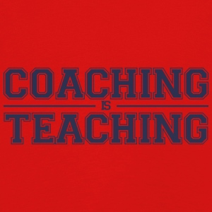 Coach / Trainer: Coaching Is Teaching - Kids' Premium Longsleeve Shirt