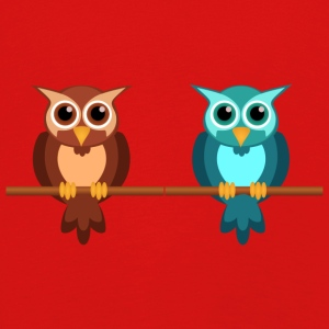 Two owls - Kids' Premium Longsleeve Shirt