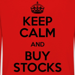 KEEP CALM AND BUY STOCKS - Kinder Premium Langarmshirt