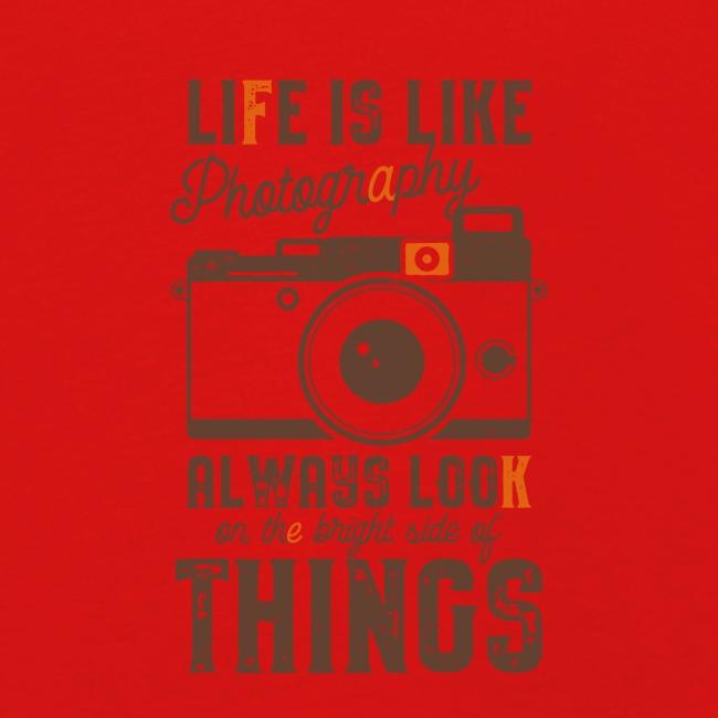 Life is like Photography