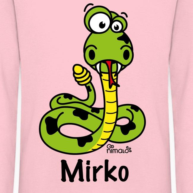 Tee shirt enfant serpent personnalisé avec prénom