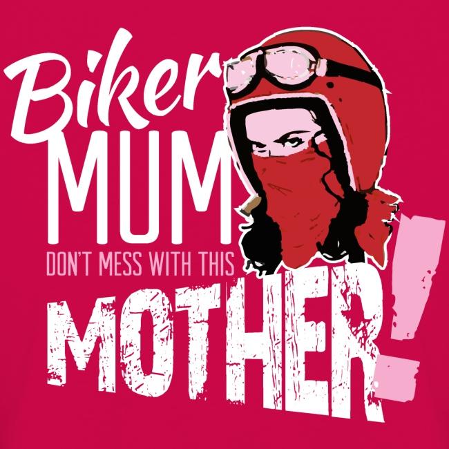 Biker Mum T-Shirt