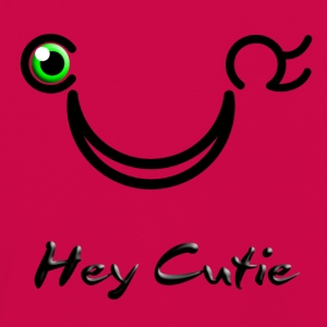 Hey Cutie Green Eye Wink - Kids' Premium Longsleeve Shirt