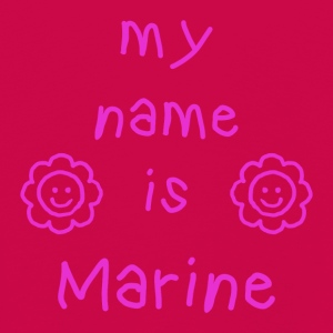MARINE MY NAME IS - Kids' Premium Longsleeve Shirt