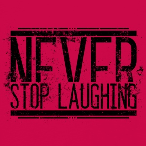 NeverStop Laughing Alt 001 AllroundDesigns - Kids' Premium Longsleeve Shirt