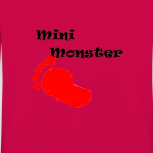mini monster - Långärmad premium-T-shirt barn