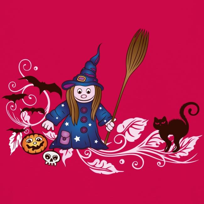Spiegelwelten Shop Hexe Halloween Deko Ranke Kinder Premium