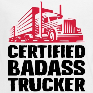 Certified badass trucker - Teenagers' Premium Longsleeve Shirt